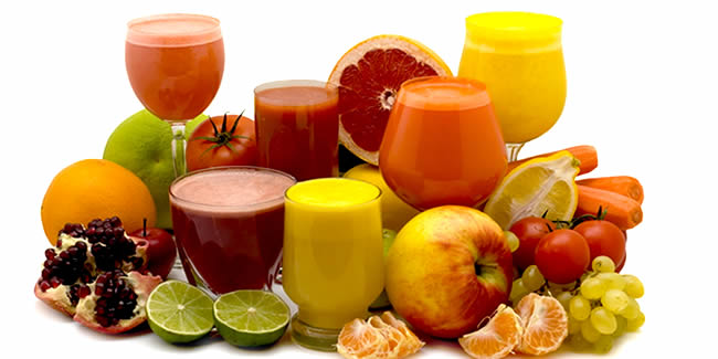 tonics and low-calorie juices for healthy living