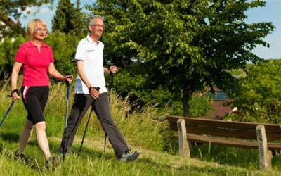 The benefits of walking outdoors