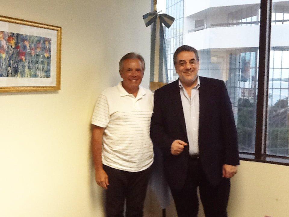 Ing. Miguel Cané y  Embajador Miguel Talento