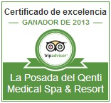 La Posada del Qenti is awarded the Certificate of Excellence 2013 by TripAdvisor