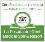 La Posada del Qenti es distinguida con el Certificado de Excelencia 2013 de TripAdvisor