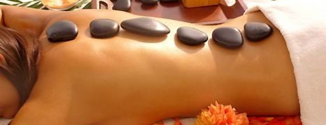 Stone Massage: A treat for all the senses.