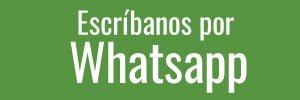 Escríbanos por Whatsapp