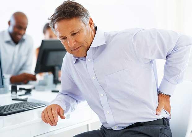 El dolor agudo de la espalda a la derecha