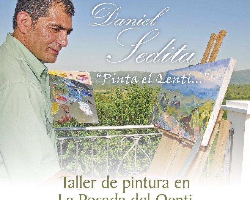 Daniel Sedita pinta el Qenti…