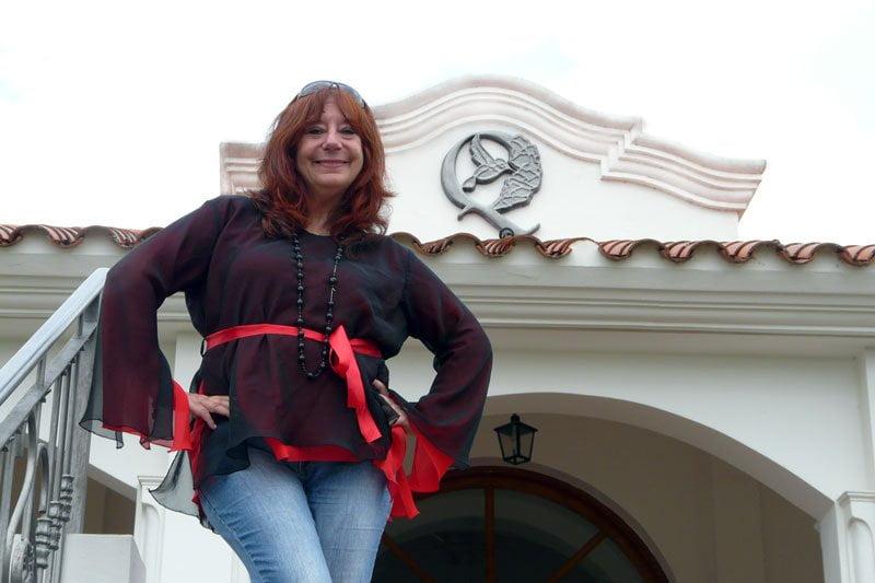 Ludovica Squirru ser apresentado no La Posada del Qenti