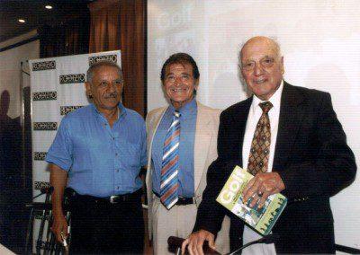 Vicente Fernández, Prof. Jorge Brisco y Roberto De Vicenzo