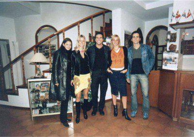 Nicole Neuman, Tobias Bianco y Cristian Sancho