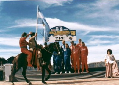 Presentación Rally Mundial 1998
