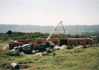 Construcción del Ala Sierras