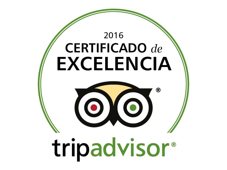 La posada del Qenti recibe el premio certificado de excelencia de 2016 de tripadvisor