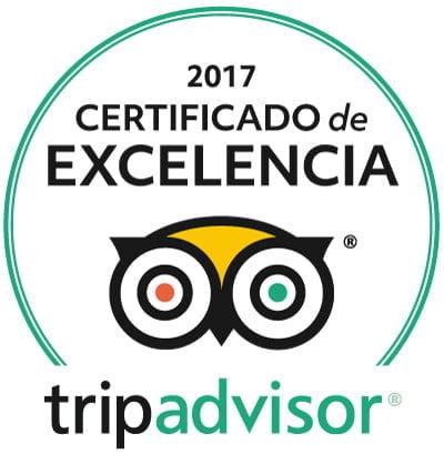 La Posada del Qenti recibe el certificado de excelencia de 2017 de tripadvisor