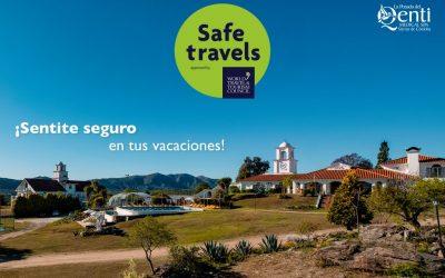 Tenemos el Certificado «Safe Travels»