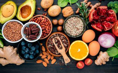 Alimentación y antioxidantes